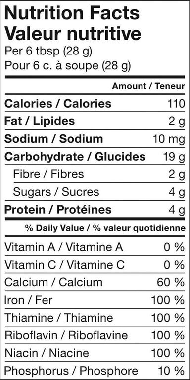 Nestlé Gerber Organic Baby Cereal Oatmeal 208g