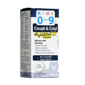 Homeocan Kids 0-9 Cough & Cold Nighttime