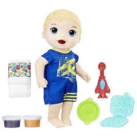 Baby Alive Super Snacks - Luc Bébé glouton (Blond).