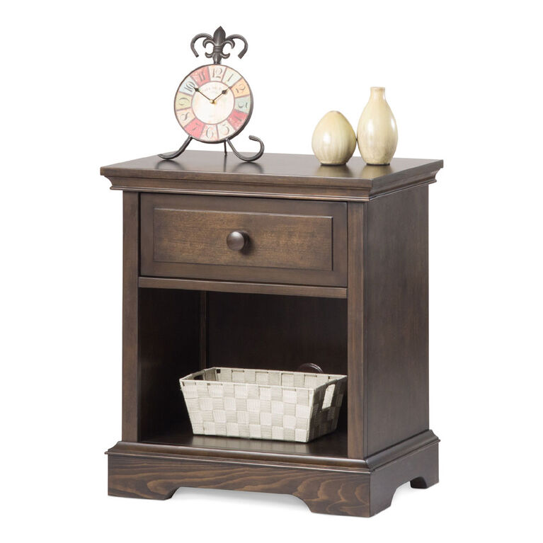 Child Craft Camden Universal Select Ready to Assemble Night Stand - Slate