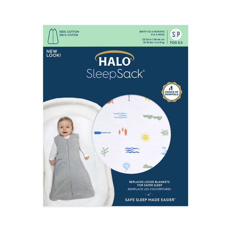 Sac De Nuit Halo Sleepsack - 100% Coton - Lakeside - Grand