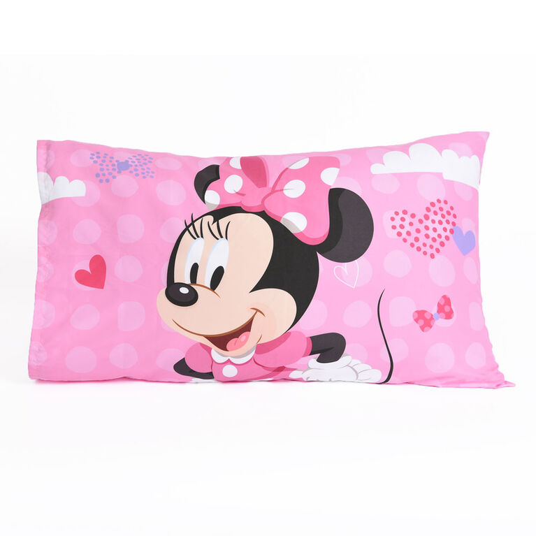 Nemcor - Disney Minnie Mouse 3-Piece Toddler Bedding Set