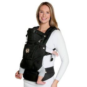 LILLEbaby Embossed Luxe Carrier - Noir