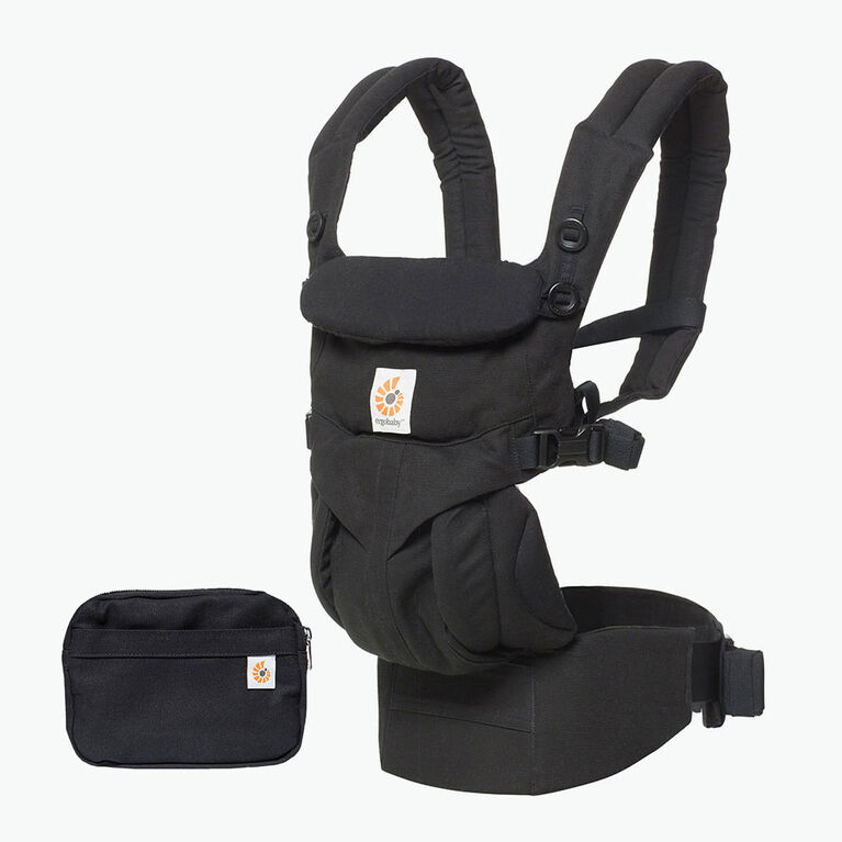 Ergobaby Omni 360 All-in-One Ergonomic Baby Carrier - Pure Black