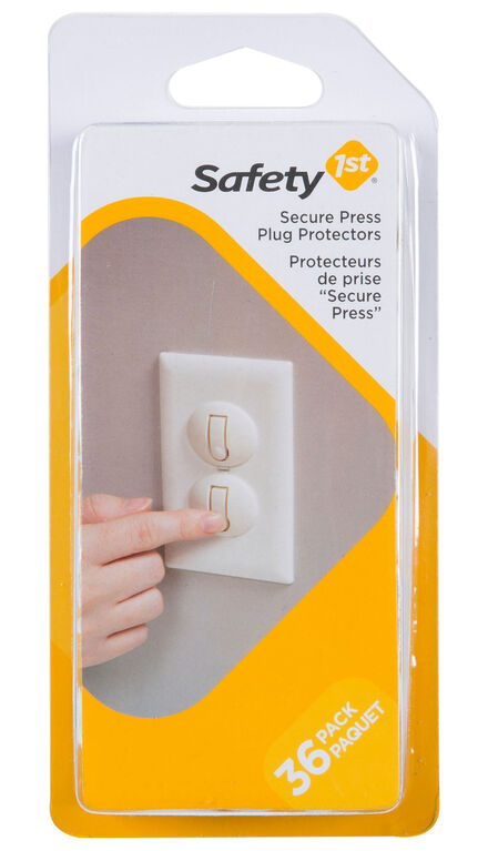 Safety 1st protecteur de prise Secure Press - paquet de 36.