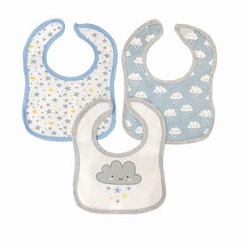 Koala Baby - 3 Pack Blue Cloud Applique JerseyY