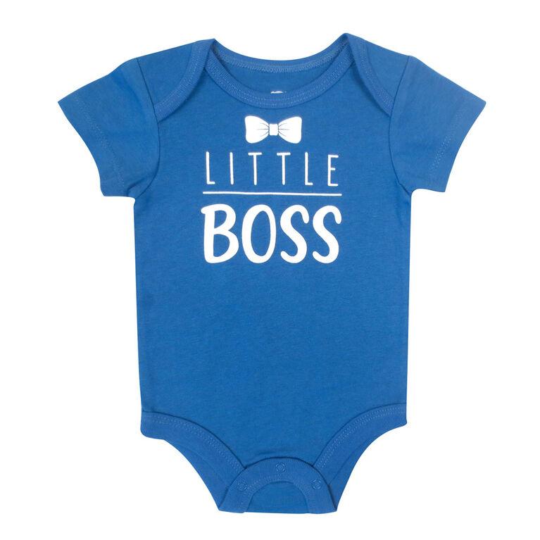 Rococo Bodysuit - Blue, 3-6 Months