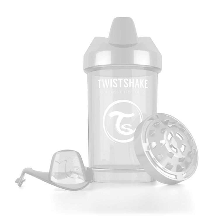 Twistshake Crawler Cup 300ML 8+M - White