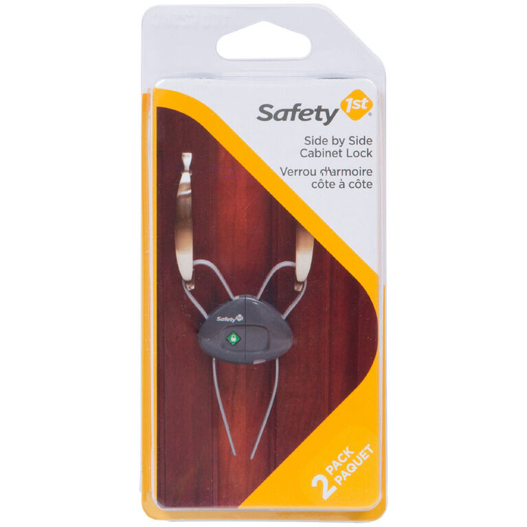 Safety 1st Side by Side Cabinet Lock 2Pack