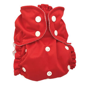 AppleCheeks Diaper Covers One-Size Cherry Tomato