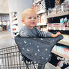 Itzy Ritzy Mom Boss 4-in-1 Multi-Use Nursing Cover, Car Seat Cover, Shopping Cart Cover and Infinity Scarf, Constellation