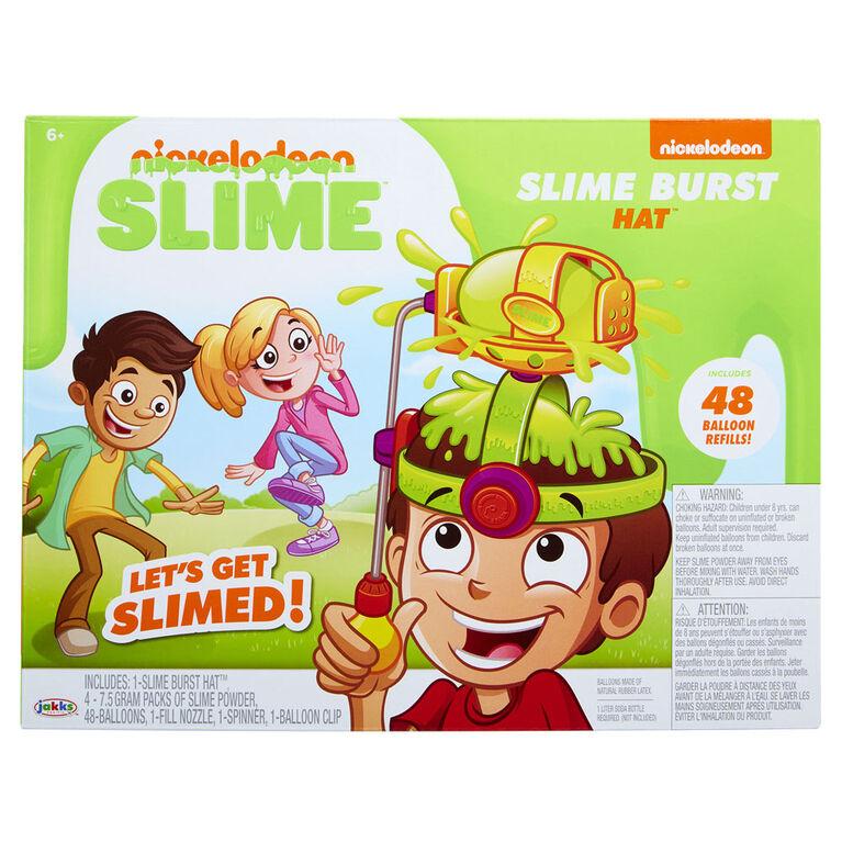 Nickelodeon Slime Burst Hat Game