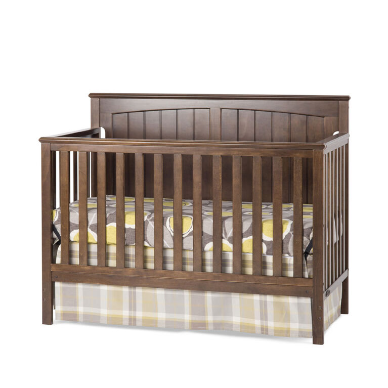 Child Craft Sheldon 4-in-1 Convertible Crib - Slate