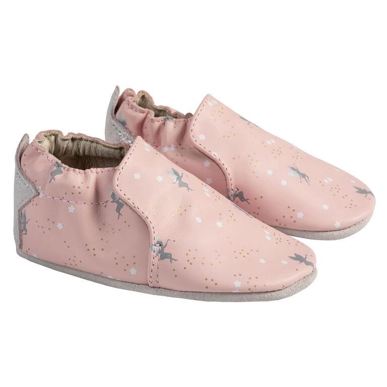 Robeez - Soft Soles Pixie Pink 12-18M