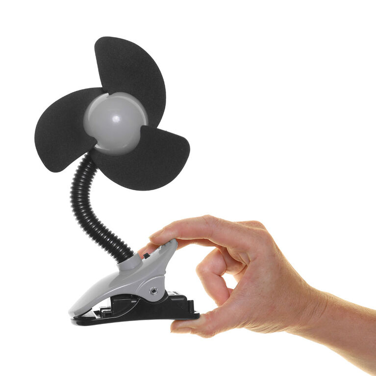 DREAMBABY EZY-FIT CLIP ON FAN - BLACK