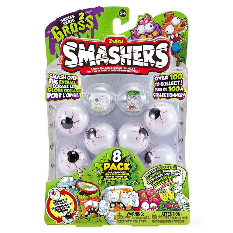 Smashers Gross Series 2 - 8 Pack