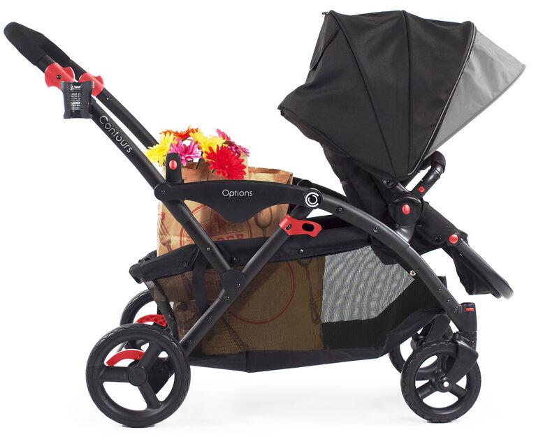 Contours Options Tandem Stroller - Black/Grey - R Exclusive