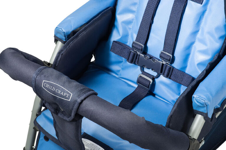 Child Craft Sport Multi-Child Triple Stroller, 3-Passenger - Blue