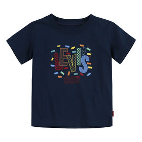 Levis T-shirt - Marine, 24 mois