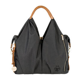 Lassig Green Label Neckline Diaper Bag - Denim Black