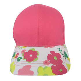 Casquette De Baseball Baby B - Florale, Rose, 0-12M