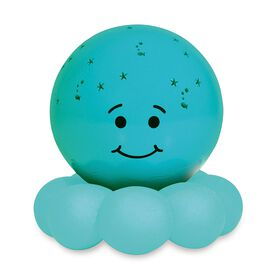 Veilleuse portative bleue Twinkles To Go Octo de Cloud B.