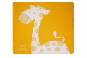 Marcus & Marcus Placemat - Lola the Giraffe - Yellow.