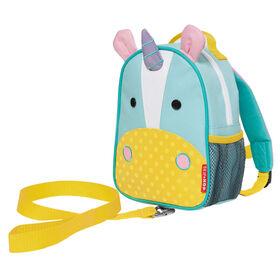 Skip Hop - Sac à dos ZOO avec harnais de sécurité - Licorne.