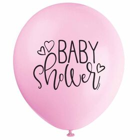 "8 Balloons 12 Po - ""Baby Shower"" - Édition anglaise"