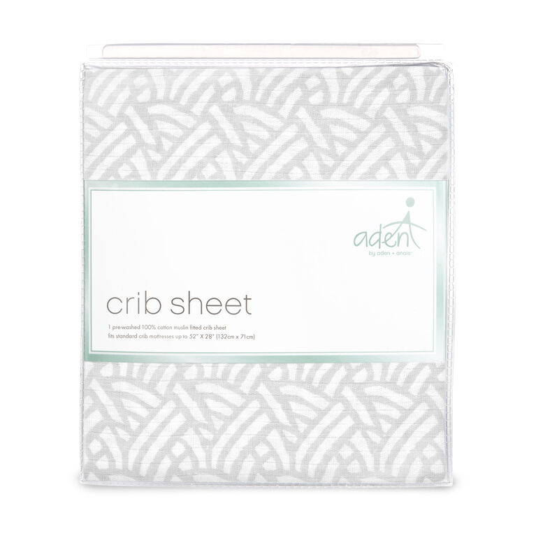 Aden Sheet - Pasture Grey