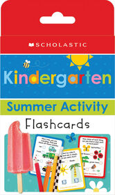 Scholastic - Scholastic Early Learners: Kindergarten Summer Activity Flashcards - Édition anglaise