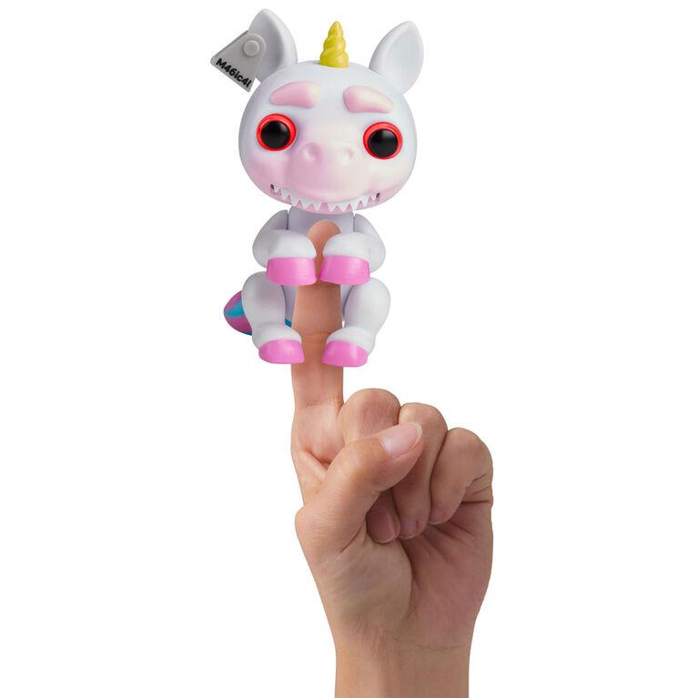 Grimlings - Licorne - Jouet animal interactif - par WowWee