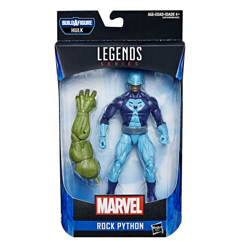 Marvel Legends Series: Rock Python with Build-A-Figure Piece