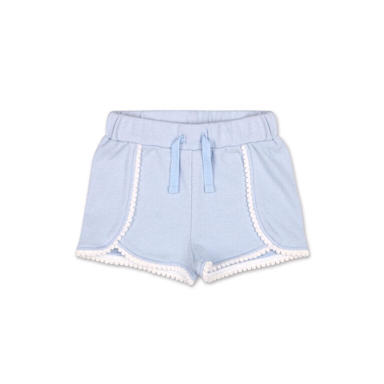 Koala Baby Lilac Pom Pom Trim Shorts - 6-12 Months