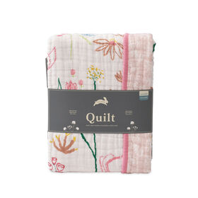 Red Rover - Cotton Muslin Quilt - Pastel Petal - R Exclusive