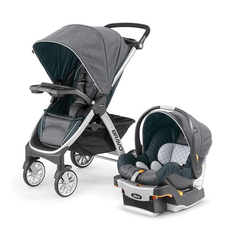 Terrific Chicco Bravo Trio System With Keyfit 30 Infant Car Seat Poetic Creativecarmelina Interior Chair Design Creativecarmelinacom