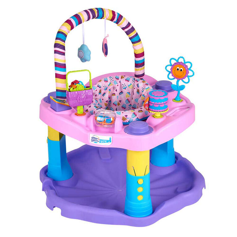 Evenflo Exersaucer Mega Sweet Tea Party