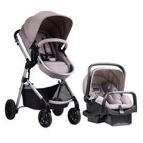 Evenflo Pivot™ Travel System with SafeMax - Sandstone