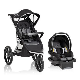 Evenflo Victory Jog Travel System-Gray Scale
