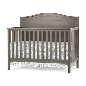 Forever Eclectic by Child Craft Wilmington Arch Top 4-in-1 Convertible Crib, Dapper Gray