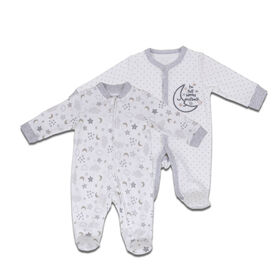 Koala Baby 2-Pack Sleeper - Moon, Newborn