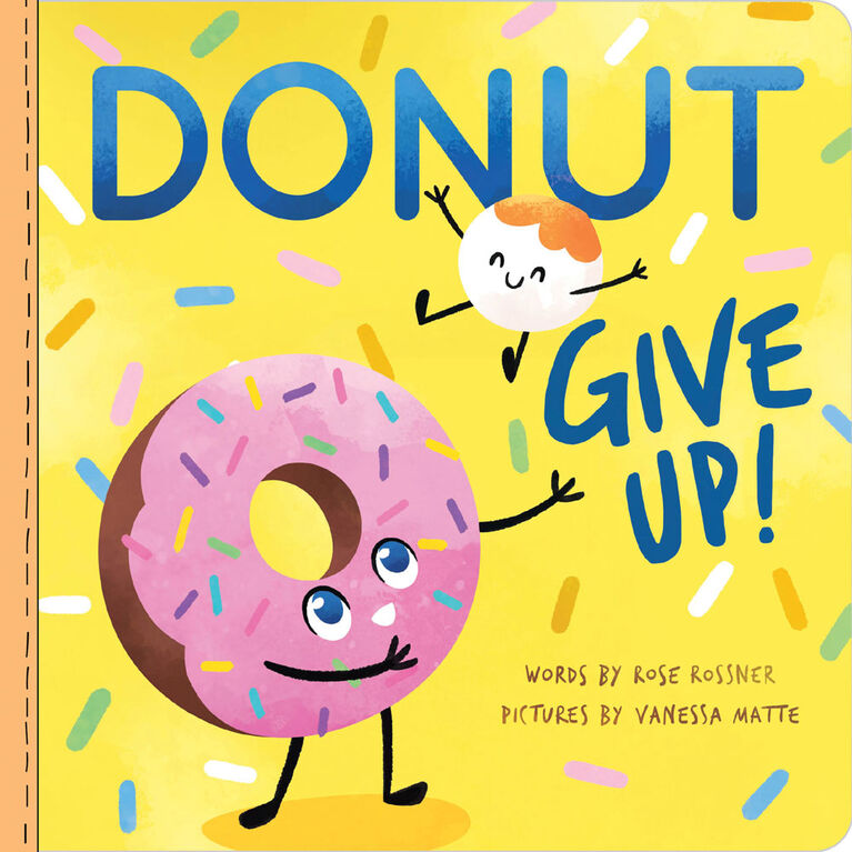 Donut Give Up - English Edition