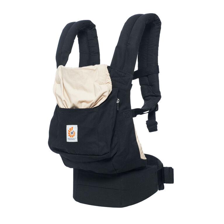 Porte-bébé Ergobaby original à positions multiples - noir chameau.