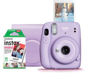Fujifilm Instax Mini 11 Lilac Purple Instant Camera Bundle