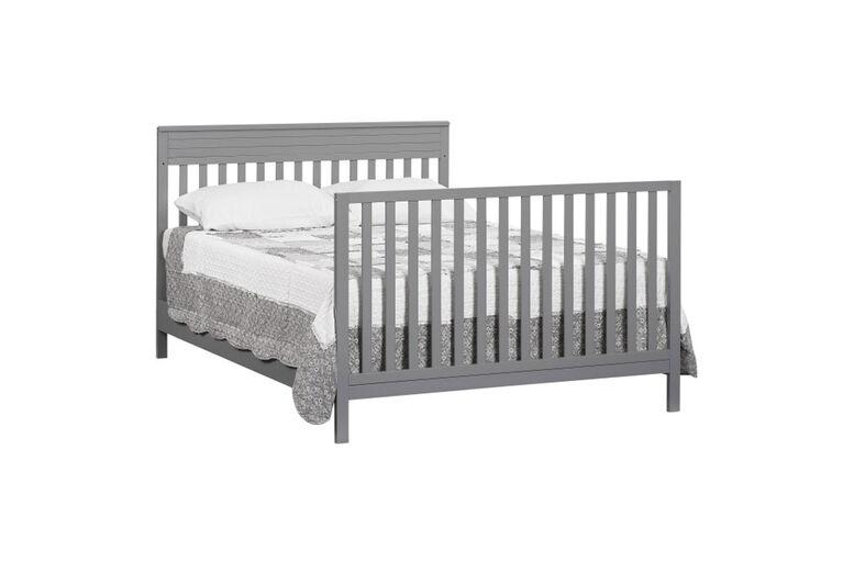 Oxford Baby Skyler 4in1 Convertible Crib Dove Gray - R Exclusive