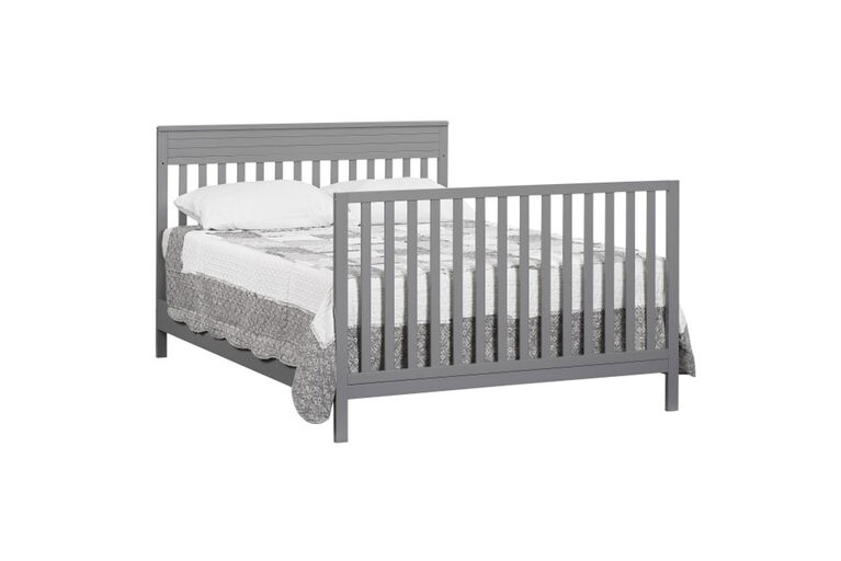 Oxford Baby Skyler Full Bed Conversion Kit Dove Gray - R Exclusive||Oxford Baby Skyler Full Bed Conversion Kit Dove Gray - R Exclusive