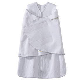 HALO SleepSack Swaddle - Silver Pin Dot - Cotton - Small