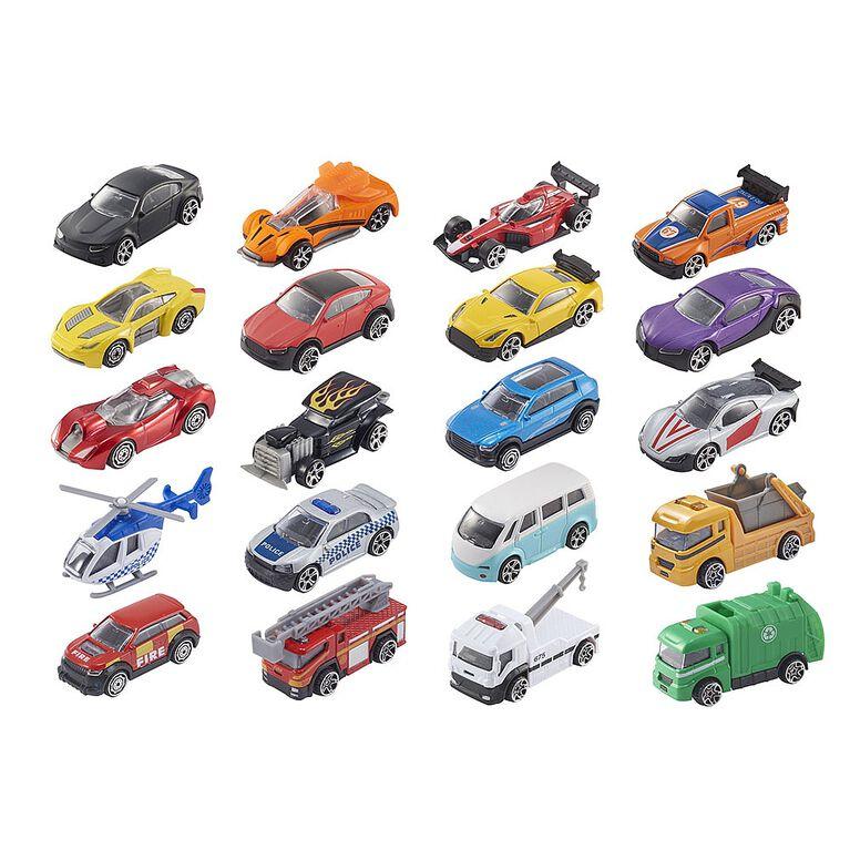 Lot de 10véhicules miniatures Teamsterz.