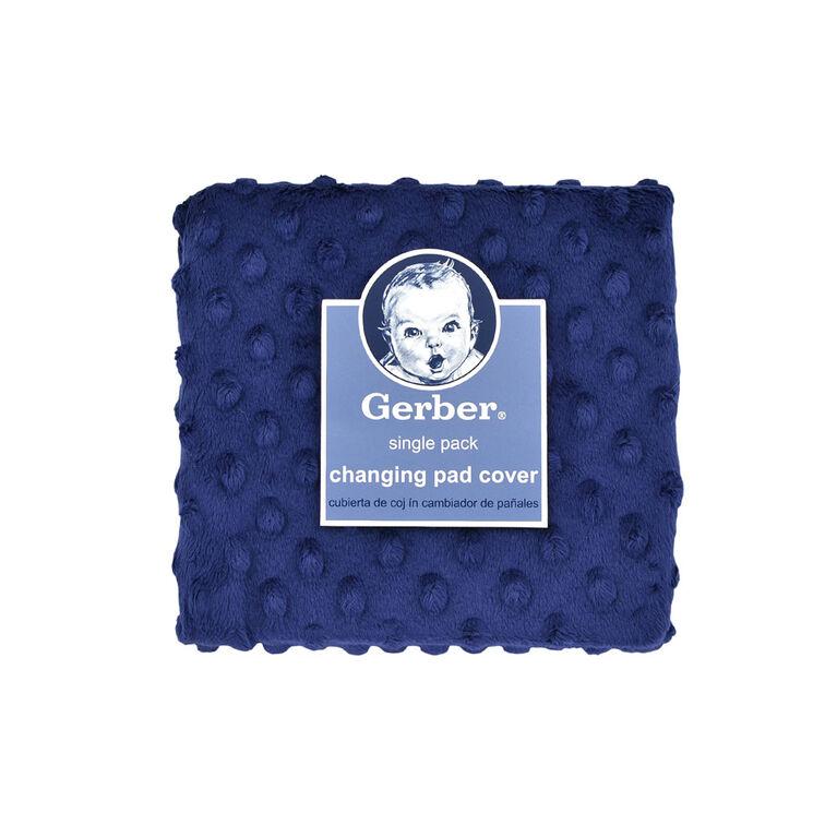 Housse de coussin à langer Gerber, bleu marine.