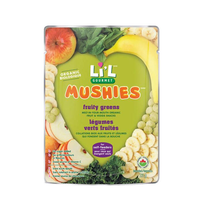 Baby Gourmet Mushies - Legumes verts fruites.